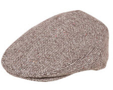 Irish tweed golf cap